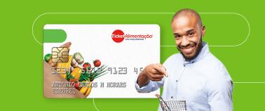 Icone Ticket Alimentação : multiplique opções para seus clientes com o vale alimentação da Ticket®