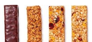barras de cereais