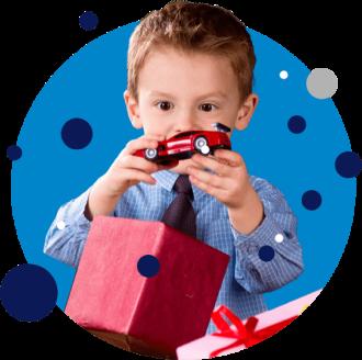 Icone Uma opção para os filhos de seus colaboladores: Presente Perfeito Kids
