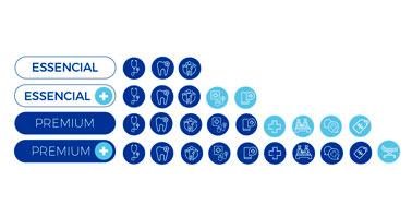 Icone São 4 pacotes para você escolher o que melhor atende às necessidades da sua empresa