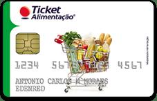 Cartão Ticket Alimentação