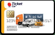 Cartão Ticket Car: atual Ticket Log