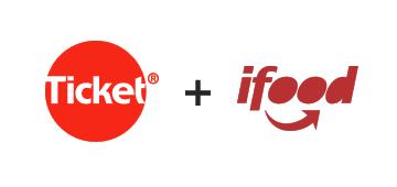 Ícone para mobile do produto Ticket + Ifood