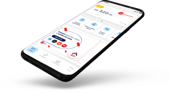 Ícone para mobile do produto Aplicativo Oficial Ticket