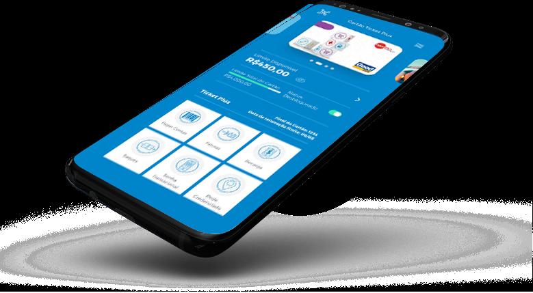 Ícone para mobile do produto Ticket Plus na Edenred Wallet