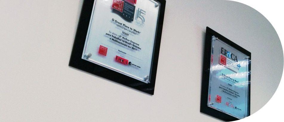 Premiações e Certificados