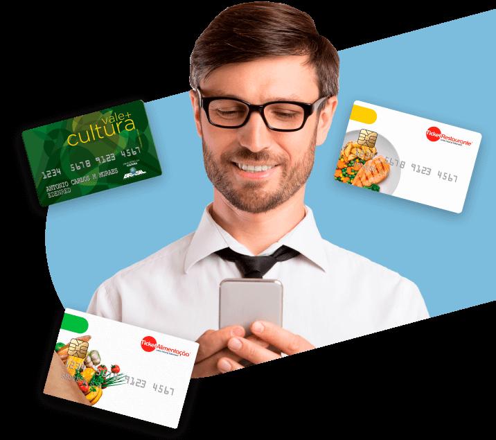 Icone Funcionários mais felizes com os benefícios Ticket